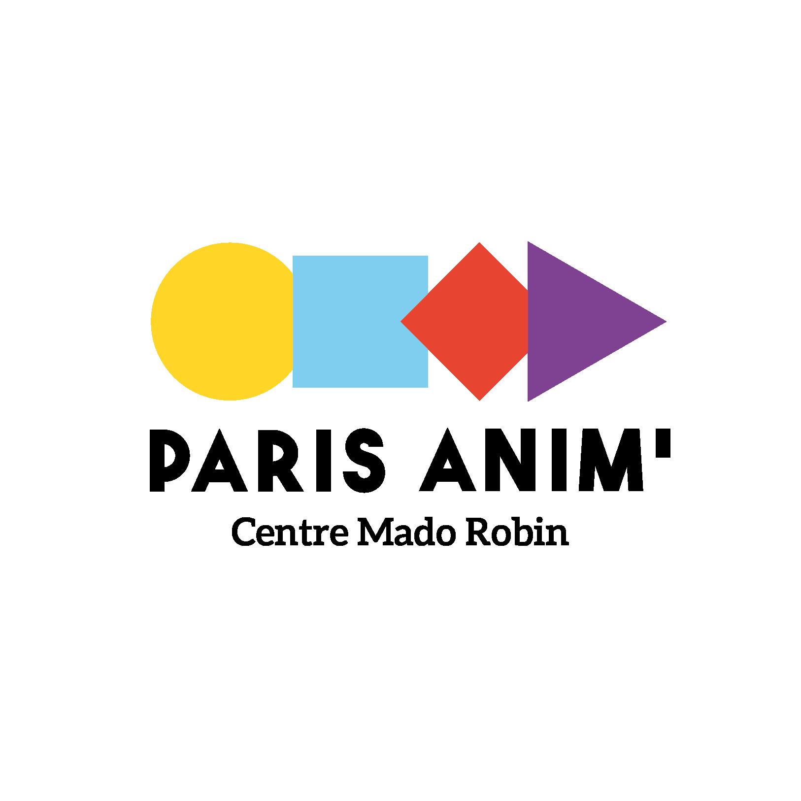 Logo Centre Paris Anim' Mado Robin
