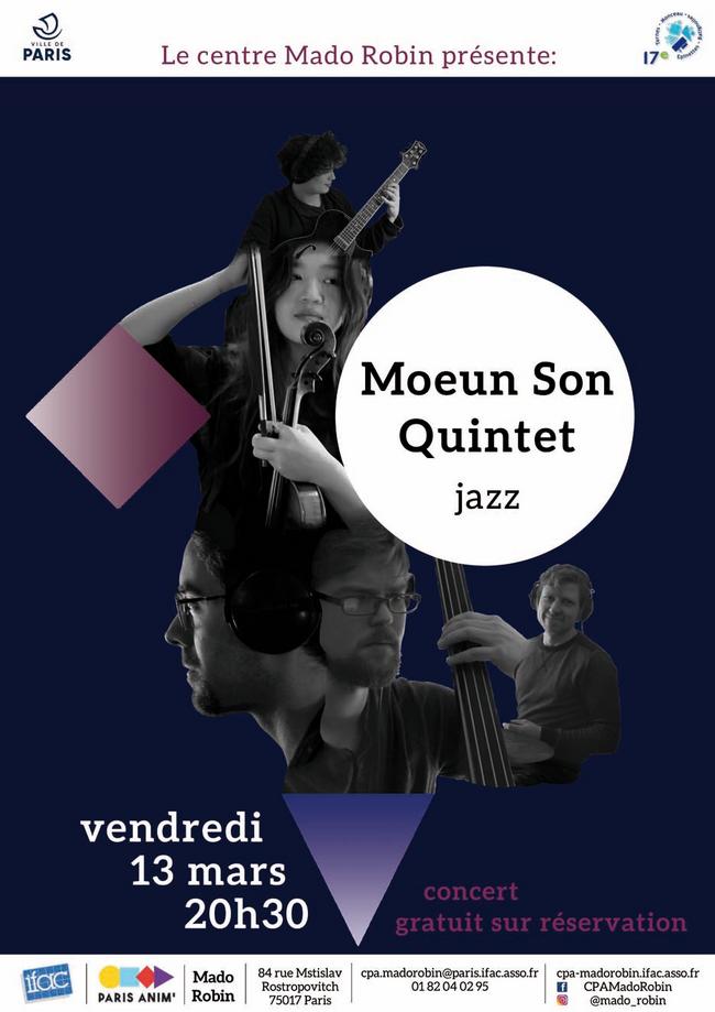 «Mado part en live» / Mars : Moeun Son Quintet