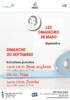 « Les dimanches de Mado » / Programme de Septembre