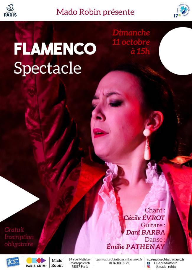 Spectacle de flamenco (réservation en ligne)